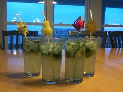 cucumber mojitos