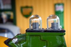 Old gas pump (Hkan Dahlstrm) Tags: lund station sign skne sweden schweden gas british sverige bp petroleum sude svezia skne skanelan harlosa harlosa