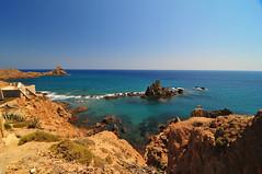Cabo de Gata (Carnifex) Tags: blue spain mediterranean august bleu blau andalusien espagne 2009 cabodegata spanien andalousie carnifex mittelmeer andalucia espana mediterranee almeria