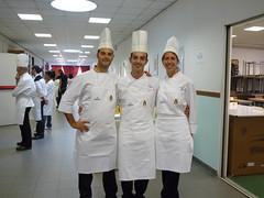 Award del Pasticciere 2009. Giovanni Cappello, Mario Ragona ed Emanuela Isoardi
