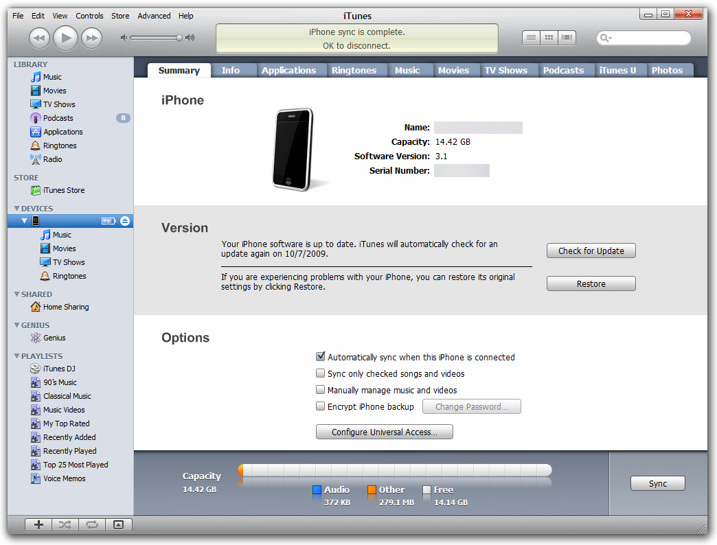 Name application data apple computer itunes iphone software update