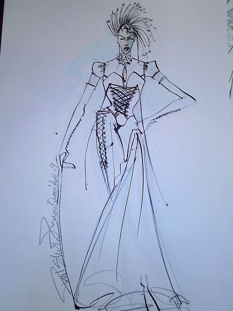 FF - costume design for The Snow Queen - The Snow Queen