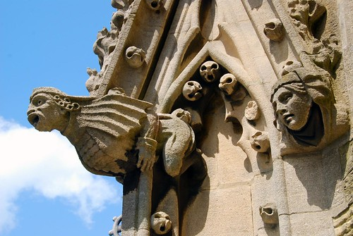 gargoyles, oxford
