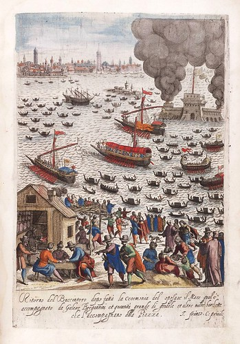 020-Retorno de la nave del Dux-Habiti d'hvomeni et donne venetiane 1609