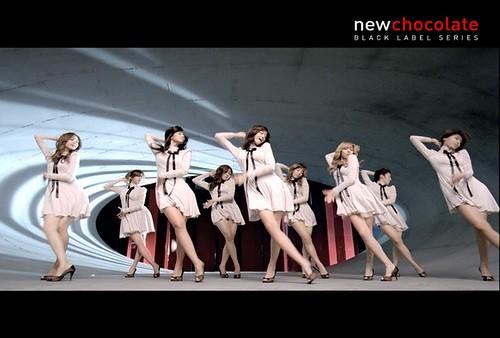 LG 뉴초콜릿 광고 - 소녀시대 Still.0004