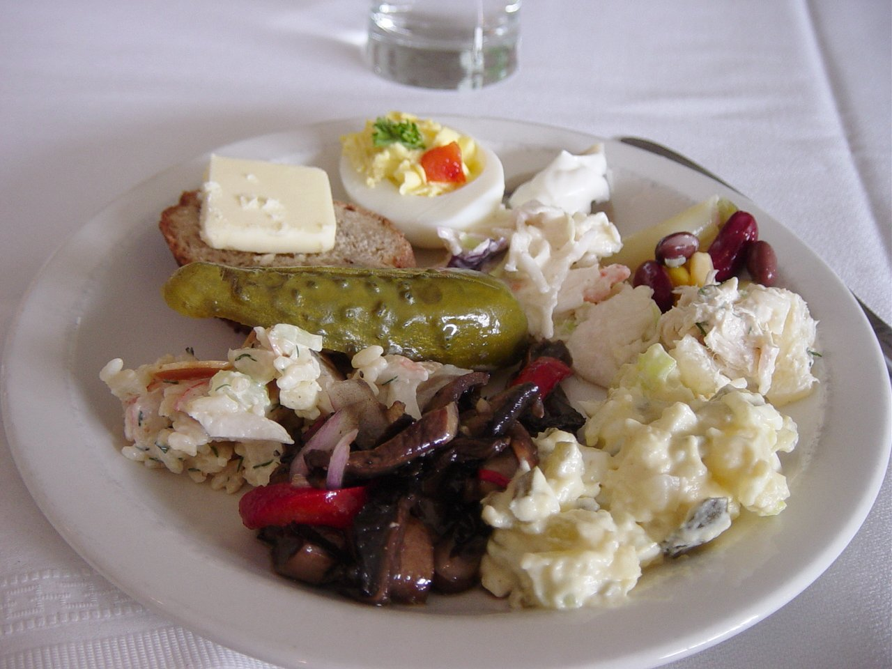 Latvian Salads