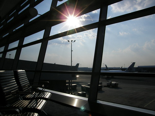 你拍攝的 【SP550】機場。