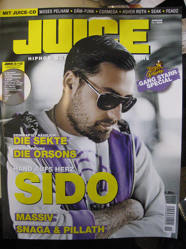 SEAK feature/interview in the actual Juice Magazin.