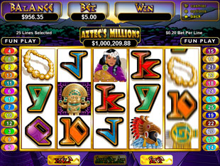 Aztec's Millions slot game online review