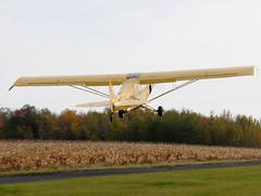 C-FQYF Piper PA-18A-150 Super Cub @ St-Mathias CSP5  DSC_7596 (djipibi) Tags: cub airport 2009 supercub aroport stmathias hydrobase csp5 cubtoberfest csv9