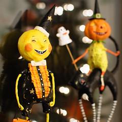 Halloween Moon Man and Cat Rider (Sky Noir) Tags: moon man halloween cat bokeh rider skynoir