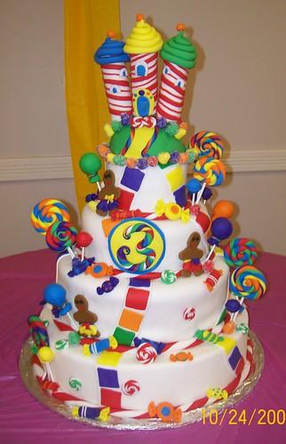 Link 355 Candyland Castle Cake   WSOURCE