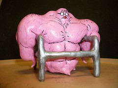 mean ruby jean -01 (mikaplexus) Tags: pink sculpture favorite art me muscles myself toy toys michael jean cartoon walker ruby custom granny adultswim mika limited cartoons rare squids hahaha theman mds steroids yourfriend plexus michaelstewart ireallylike squidbillies rubyjean mikaplexus meanrubyjean michaelduanestewart mestuffs