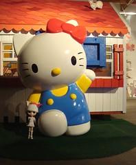 Blythe with Hello Kitty