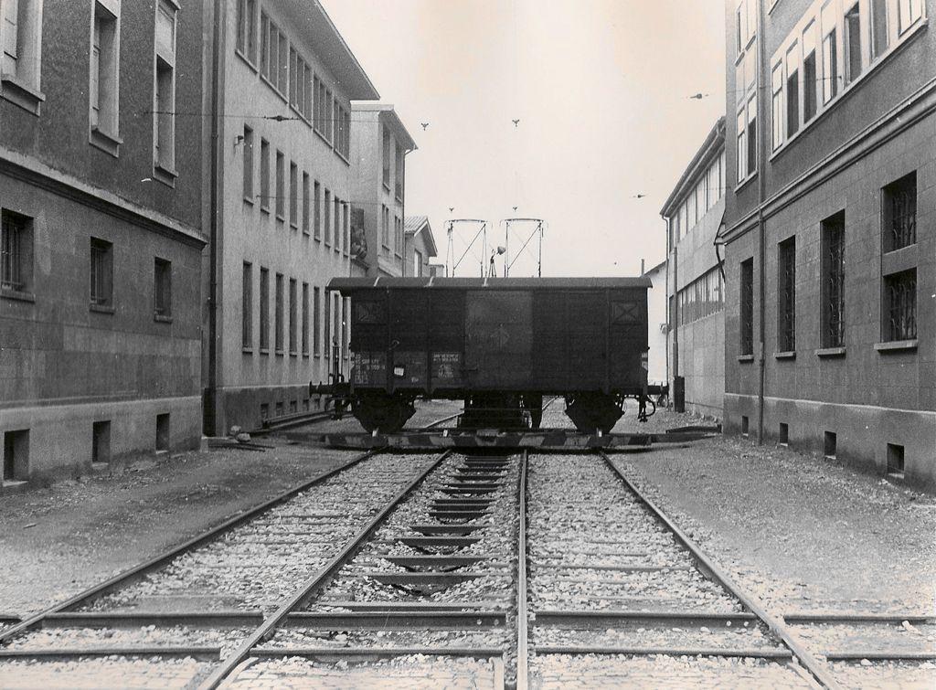 Flon - La voie du Chariot en 1974