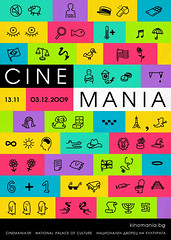 Cinemania Film Festival 09 (Mihail Mihaylov) Tags: cinema black art film colors festival modern illustration contrast advertising poster logo fun grid typography graphicdesign play good creative system event tape bulgaria movies symbols campaign 2009 cinemania quiz module filmfestival artdirection pictograms developing filmfestivalposter mihailmihaylov filmfestivalidentity kresadvertisingagency