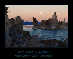 From Sunset to Nightfall (janetfo747) Tags: california sunset moon lake water birds rock mono towers calcium limestone monolake alkaline tufa breathtaking picnik ohhh nightfall calciumcarbonate southtufa tufatowers flickrsilver flickergold platinumheartaward yourarthastouchedtheworld breathtakinggoldaward 100commentgroup universalelite platinumgolddoubledragonawards andromeda50 andromeda5010 magnificentmonuments worldpeacehalloffame vividstriking angelgallery thebestofcengizsqueeze breathtakinghalloffame vividstrikinghalloffame platinumplanet statenaturereserve blackrosetreasuresadmininviteonly avisionofphotosartsplatinum 1001nightsmagiccity avisionofphotosartsgold blackrosetreasuresshowcase mygearandmepremium gallerytheverybestofpeacegroup mygearandmebronze mygearandmesilver mygearandmegold mygearandmeplatinum mygearandmediamond