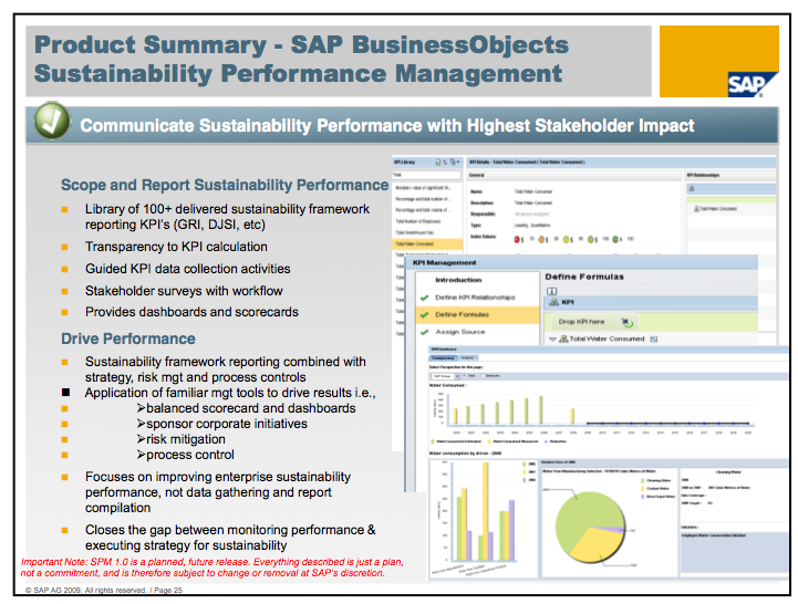 SAP's Sustainability Performance Management software launched