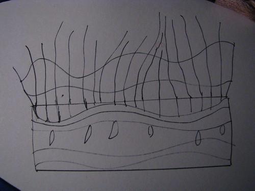 bobbin lace experimen