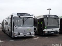 Renault PR180.2 n432 & PR180.2 n428 - Rapides de Lorraine (miniblin) Tags: bus renault stan autobus 54 mips rvi pr100 cugn grandnancy pr180 pr1802 rapidesdelorraine connexnancy voliatransport