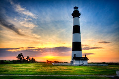 Bodie Island Lighthouse (Kay Gaensler) Tags: usa lighthouse sunrise nc kay northcarolina 2009 hdr frhling bodieisland gnsler gaensler