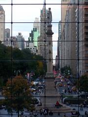 Columbus Circle (Tommy Bass) Tags: nyc newyorkcity manhattan columbuscircle urbanlandscape 59thstreet timewarnerbuilding kodakz710 flickrdiamond kodakdigitalcameras