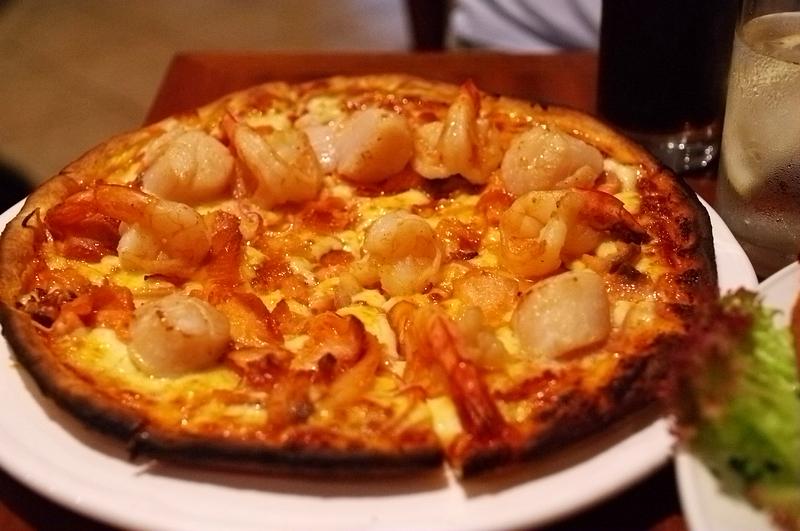 Arax Seafood Pizza