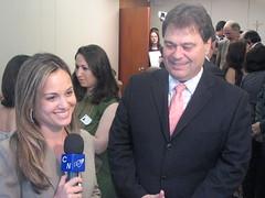 Renata entrevista Senador Gim (Misso CN Braslia) Tags: brasilia eto luzia tvdigital cancaonova