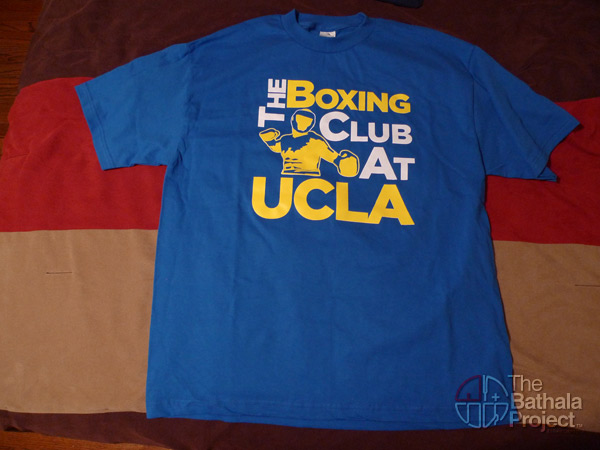 UCLA boxing club shirt 2009