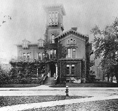 John J Bagley house 1869 (southofbloor) Tags: park tower architecture detroit cupola villa belvedere lantern destroyed turret demolished italianate bagley