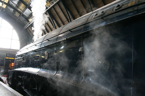 In steam