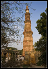 The Qutub minar at Delhi (Amit Rai Chowdhury) Tags: qutub minar
