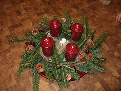 Selfmade Advent wreath