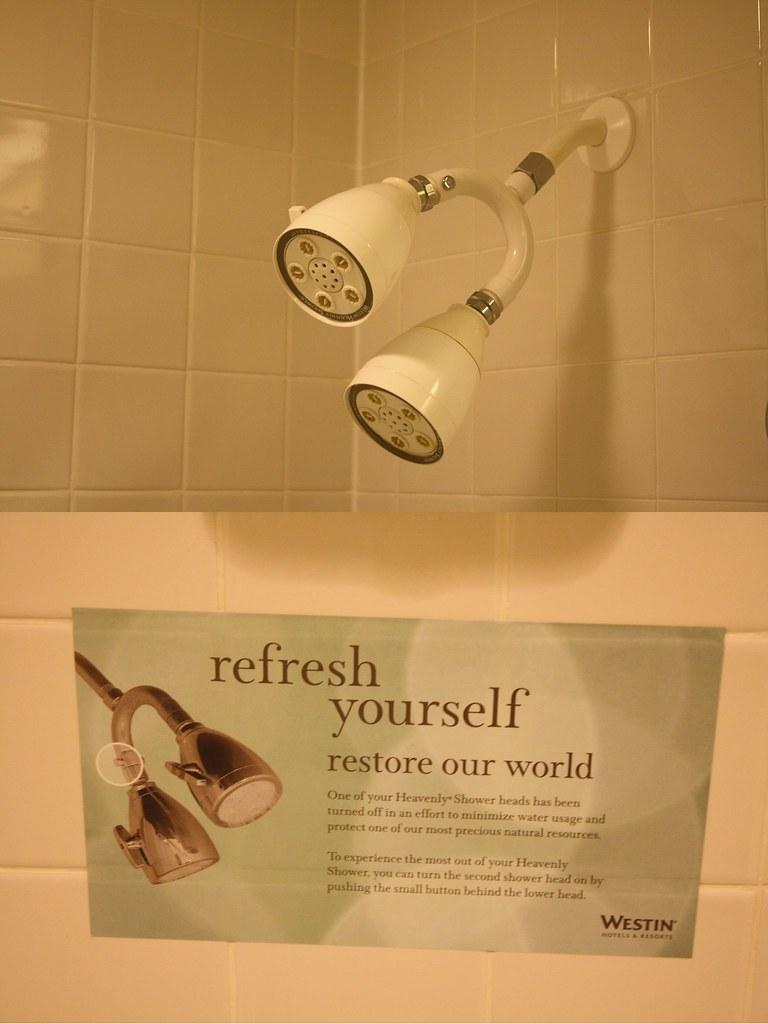 Ironic shower head
