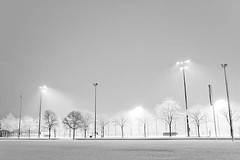 as in heaven (b_key) Tags: schnee snow schweiz switzerland nightshot fussball soccer snowfall nachtaufnahme soccerfield winterthur schneefall fussballfeld