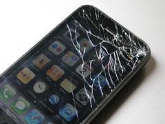Apple iPhone G3S destruction de la dalle tactile