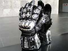 new cult (mornalll) Tags: black leather japan metal fetish hand icon glove
