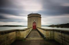 The Dam (Stu Meech) Tags: bw lake water nikon bath long exposure stu near north sigma somerset valley land chew daytime 1020mm meech 2stop nd110 d300s softgradnd
