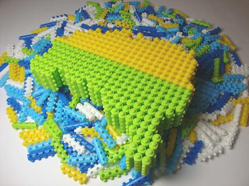 mapa do brasil. PINOS MÁGICOS Mapa do Brasil