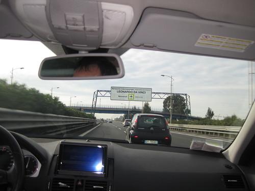 direzione Fiumicino Roma
