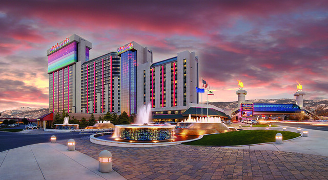 Exterior Property - Dusk by Atlantis Casino Resort Spa