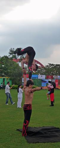 Loreto fest, actual acrobats