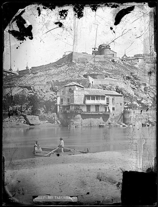 Casa del diamantista hacia 1887. Foto Casiano Alguacil