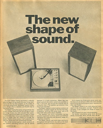New shape of sound
