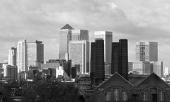 Canary wharf towers (fulham phil) Tags: city london greenwich towers canarywharf greenwichpowerstation lioghtandshade