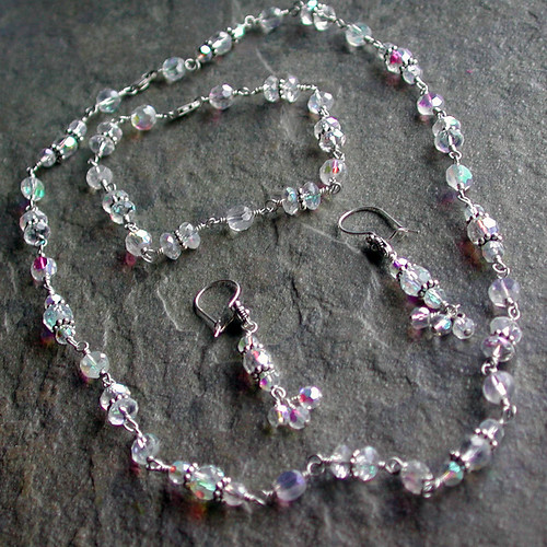 Aurora Borealis Crystal Set