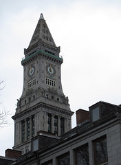 Custom House Tower (Mr.TinDC) Tags: boston architecture buildings ma skyscrapers massachusetts towers newengland clocktowers customhouse customhousetower mckinleysquare