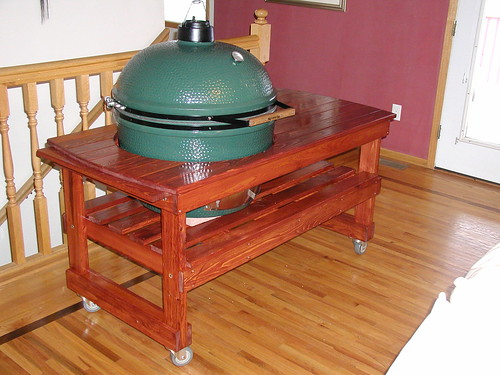 BigGreenEggIndoors