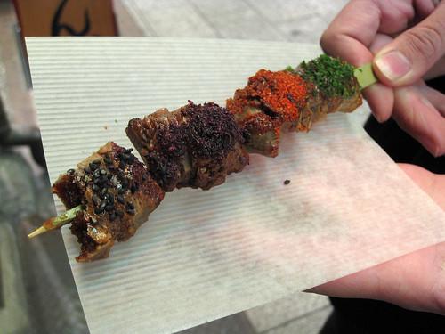 Four-Flavor Grilled Mochi