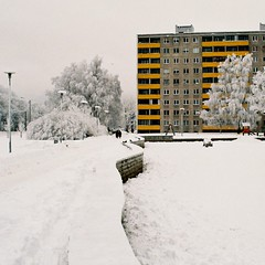 (.Harribel.) Tags: winter urban snow tallinn estonia sovietarchitecture sovietbuildings
